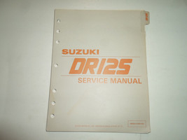 1985 Suzuki DR125 Service Manual 995004108003E Minor Stains Loose Leaf Book 85 - $44.31