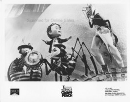 James and the Giant Peach James Ladybug Miss Spider Grasshopper 8x10 Photo - $9.99