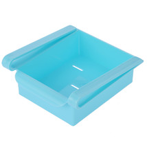 Slide Fridge Storage Rake Freezer Food Storage Boxes Pantry Storage Orga... - £11.47 GBP