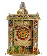 Movie Time Video Gold Meenakari Pooja Mandir, Medium - $49.49