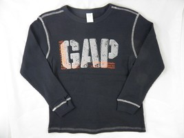 Wholesale Lot of 7 Boys Size M Thermal Long sleeve GAP Shirts - $9.85