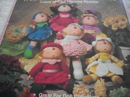 Crochet Flower Dolls - $5.00