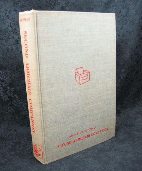 Second Armchair Companion edited by A. L. Furman 1946