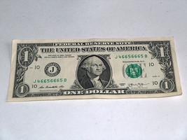 2013 $1 Dollar Bill US Note 4 5 6 Pair Set 46656665 Fancy Serial Number - $13.78