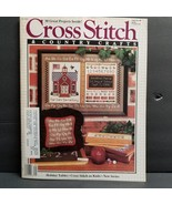 Cross Stitch & Country Crafts - Sep/Oct 1986 Christmas Projects Wedding ... - $10.22