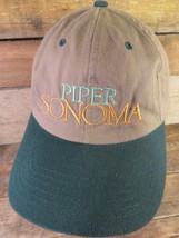 PIPER SONOMA Methode Champenoise Sonoma Country Adjustable Adult Hat Cap - $13.36