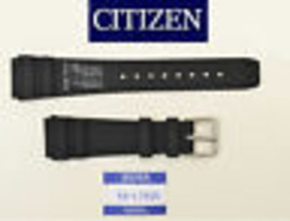 Genuine Citizen 20mm  Rubber watch Band JM3000-015 BLACk Strap 59-L7055 ... - $34.95