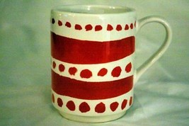 "Lenox Kate Spade 2019 All In Good Taste Red Stacking Mug 4"" - $13.49"