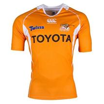 CCC Cheetahs 2017 Super Rugby Home Jersey - Mens [orange] - 3X-Large image 2