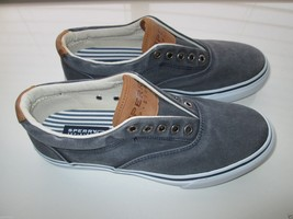 Sperry Top-Sider 1048024 Canvas Men' Sneaker Shoes Navy 8M  - $35.14