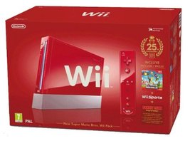 Nintendo Wii Console (Red) [video game] - $69.29