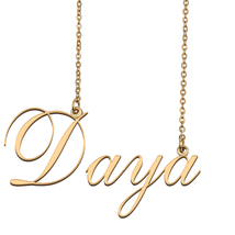 Daya Custom Name Necklace Personalized for Mother's Day Christmas Gift - $15.99+