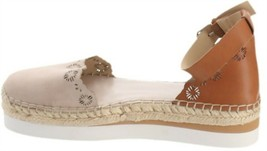 Vince Camuto Leather Two-Pc Espadrilles-Breshan Moonstone 12M NEW A353440 - $62.35
