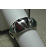 Sterling Silver Plique-a-jour Ring Colorful Vin... - $49.95