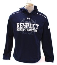 Under Armour Notre Dame & Navy Mutual Respect Dark Blue Hoodie Men's NWT - $74.99