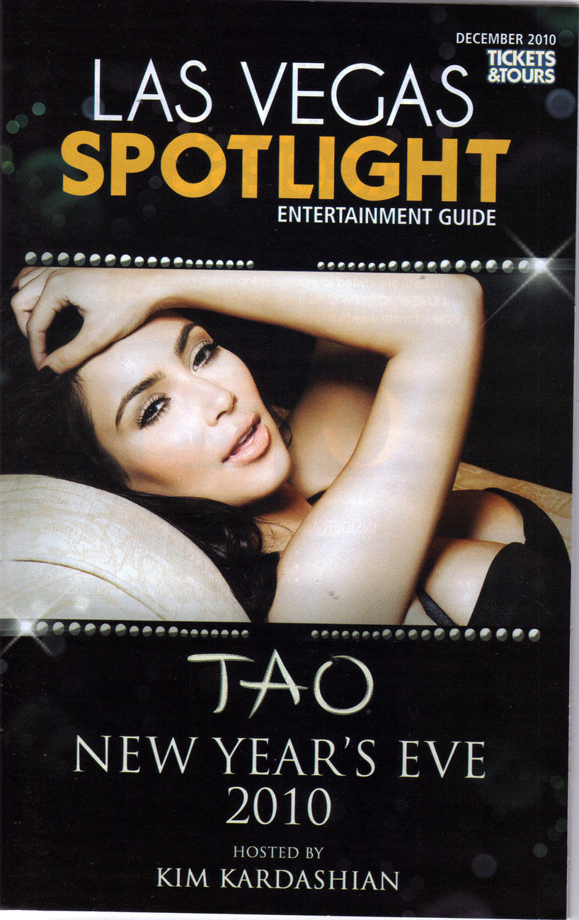 Primary image for KIM KARDASHIAN Hosts New Year's Eve 2010 at TAO Las Vegas MIni Magazine