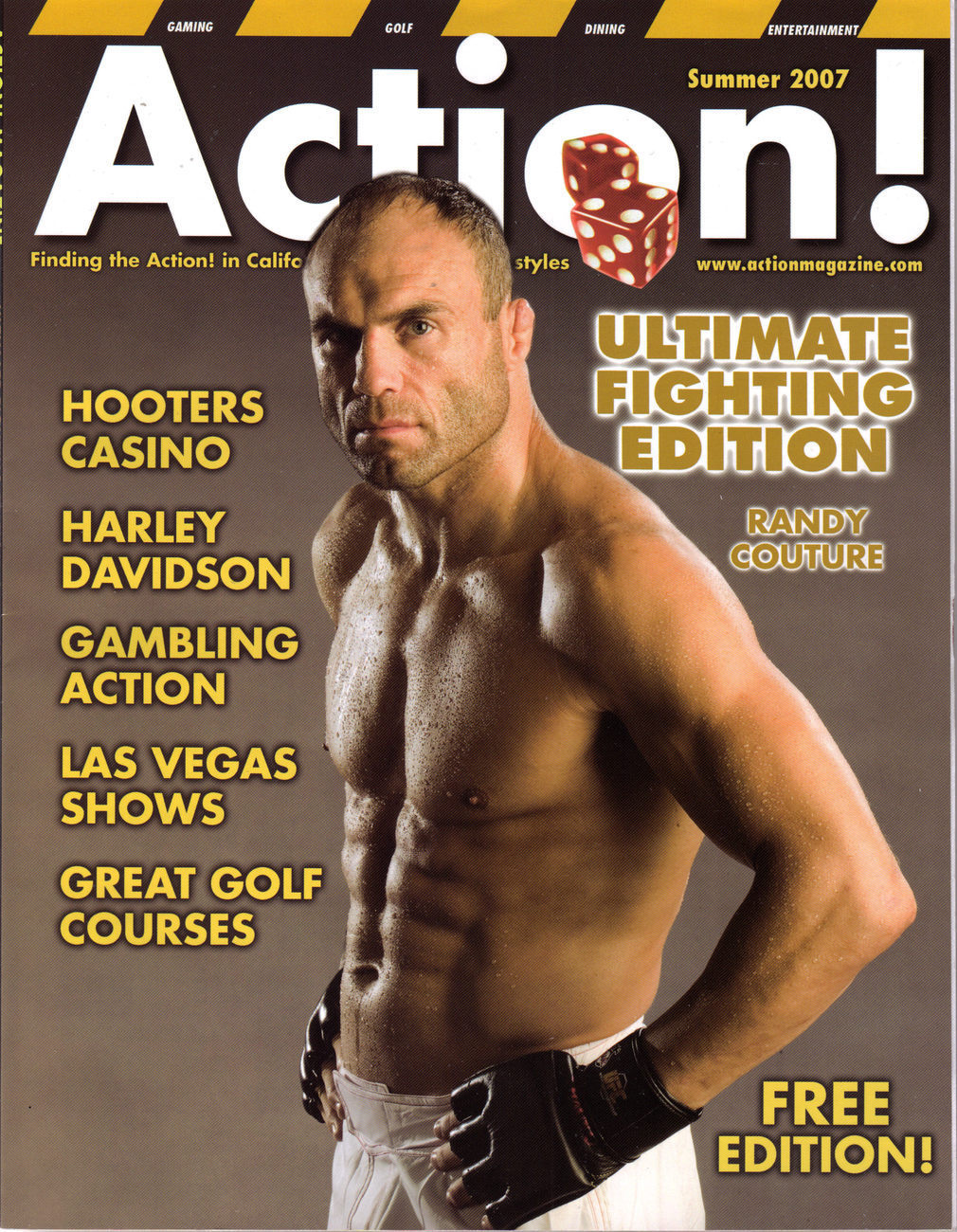 Primary image for ULTIMATE FIGHTING EDITION COUTURE DANA WHITE in ACTION 2007