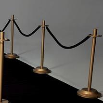 "Velvet Rope Railing 30"" Long - Black, Includes Rope Only - $28.76"