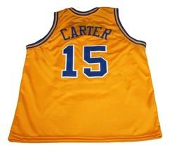 Vince Carter #15 Mainland Bucs New Men Basketball Jersey Yellow Any Size image 4