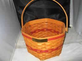 1997 Longaberber Snowflake Basket - $15.99