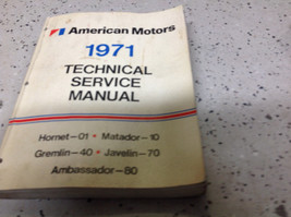 1971 AMC Gremlin Hornet Matador Técnico Servicio Reparación Manual Talle... - $39.54