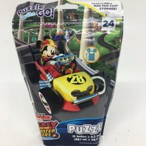 Puzzle on the Go Disney Junior Mickey And The Roadster Racers 24 Piece P... - $12.19