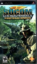 PSP - Socom - U. S. Navy Seals Fireteam Bravo (Sony) - $9.95