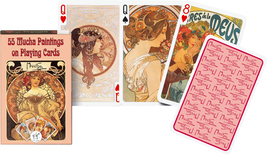 Piatnik Mucha Playing Cards - $13.70