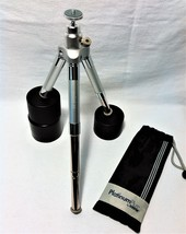 Mini-D Telescoping All Terrain Tripod - High Weight Capacity with Bag - New - $19.79