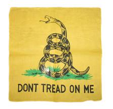 "Wholesale Lot 6 22""x22"" Yellow Gadsden Dont Tread on me Tea Party Bandana - $15.55"