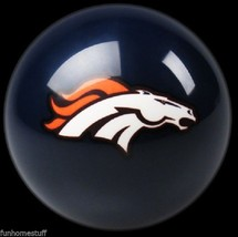 Blue Denver Broncos Nfl Team Billiard Game Pool Table Replacement Cue 8 Ball - $24.95