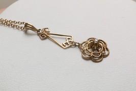 12K Gold-Filled Vintage Necklace w/Diamond - $29.99