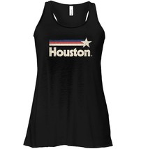 Vintage Houston Strong Flowy Racerback Tank Texas Star State Flag Flowy ... - $26.95+