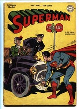 SUPERMAN #46-1947-Superboy appears-Golden-Age comic book-DC - $357.69