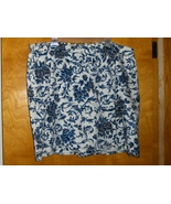 White Stag Woman Skort Size 26W Floral Skirt and Shorts in One Plus Size... - $19.99