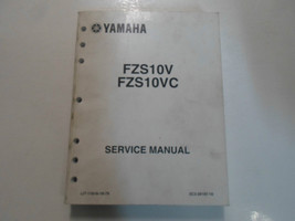 2007 Yamaha FZS10V FZS10VC FZS Motorrad Wartungshandbuch Stained Oem Fabrik - $30.19