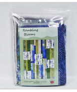 Rambling Blooms Batik and Catalina Ultra Violet Quilt Kit - $131.25