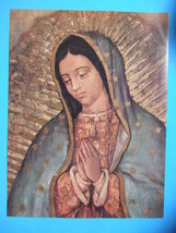 "Catholic Picture Print Our Lady Of Guadalupe 12x16"" - $15.88"