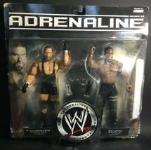 2007 Jakks Pacific WWE Adrenaline Sylvester Terkay and Elijah Burke #25 - $23.74