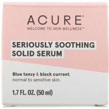 Acure, Seriously Soothing Solid Serum, 1.7 fl oz (50 ml) - $26.91
