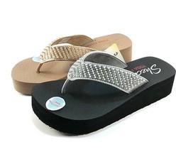 Skechers 31600 Yoga Foam Low Wedge Slip On Thong Sandals Choose Sz/Color - $42.00