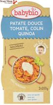 Babybio Bols Patate Douce Tomate Colin Quinoa 2x200 g - Lot de 6  - $31.79