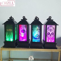 1PC LED Lantern Halloween Decoration Scary Lamp Hanging Light for Home P... - £5.24 GBP+