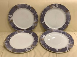 "Rosenthal Germany Epoque Lavender and Gold Rim Porcelain 12 1/4"" Charger... - $78.21"