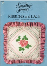 Something Special Ribbons and Lace Counted Cross Stitch Collection Chart... - $6.99