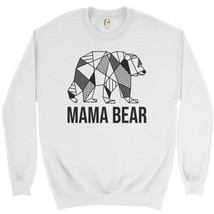 Mama Bear Sweatshirt Funny Mom Life Mother's Day Motherhood Maternity Cr... - $20.22+