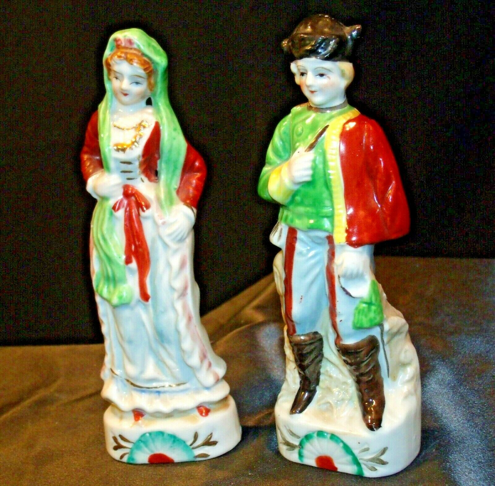 Man and Woman Figurine  (Japan) AA-192056 Vintage