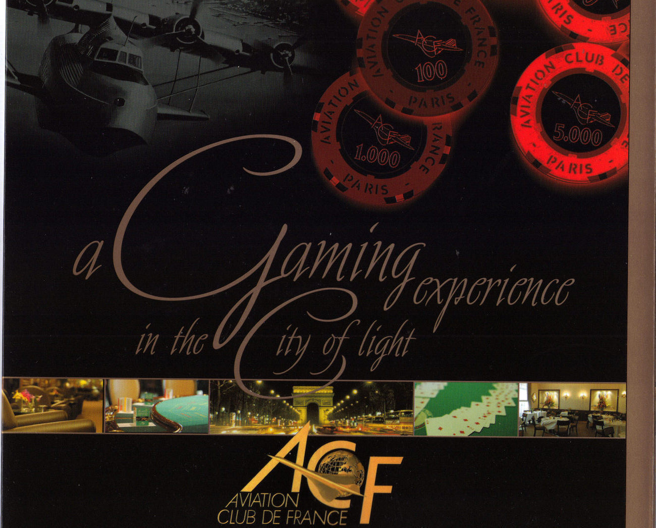 Primary image for AVIATION CLUB FRANCE A Gaming Experience in the City of Ligh