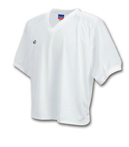Champion  XXL Tee Classic Mesh Lax V Neck Jersey White - $6.92