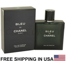 Bleu De Chanel Cologne by Chanel, 3.4 oz / 100 ml Eau de Parfum Men's Fragrance - $247.50